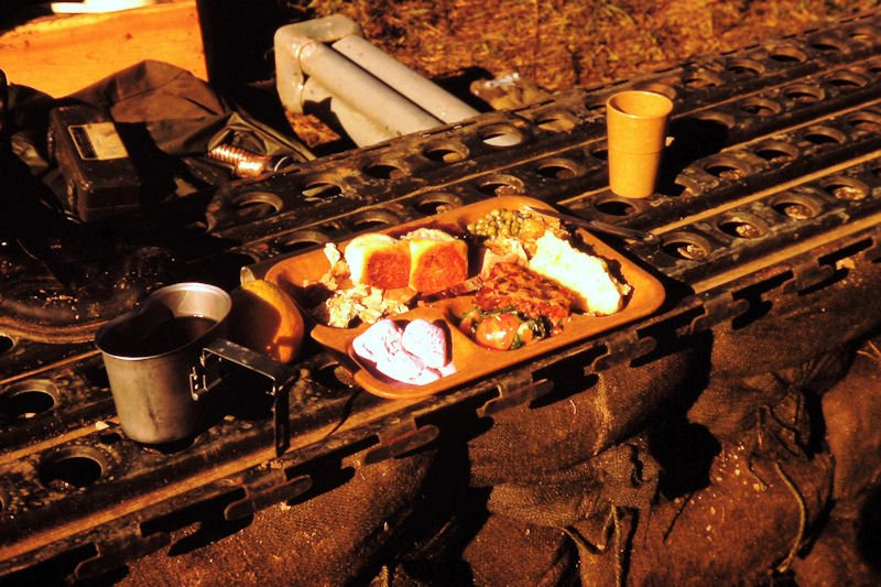 John anderson 39 s vn photos part 5 first camps for Thanksgiving dinner with all the trimmings
